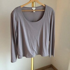 J.Jill great everyday long sleeved top
